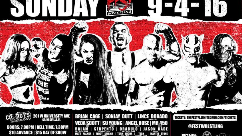 Ronin Pro Wrestling Teams Up With Fest for #FestWrestling!