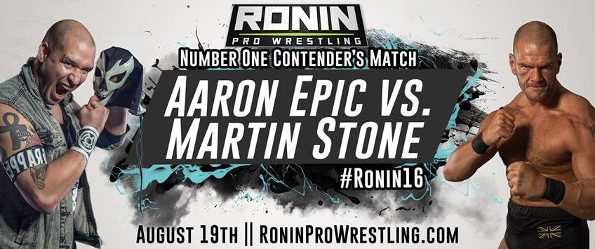Latest News And Announcements For #Ronin16 (August 19th, 2017)